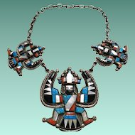 Zuni Knifewing Necklace from the 1970's