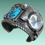 Watch Cuff by Navajo Orville Tsinnie