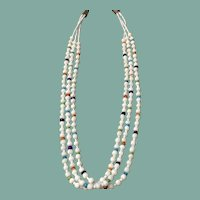 Santo Domingo Style Necklace of White Coral
