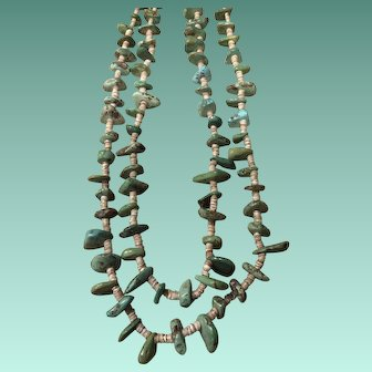 Natural Chunk Turquoise Necklace