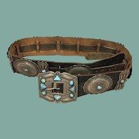 Vintage Southwest Style Concho Belt