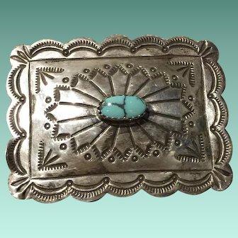 Navajo Style Belt Buckle