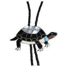 Porfilio Sheyka Turtle Bolo Tie