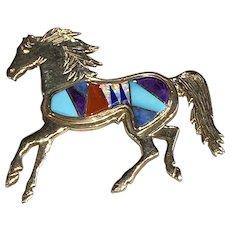 14K Gold Horse Pin/Pendant
