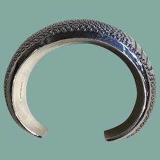 Silver Bracelet by Orville Tsinnie