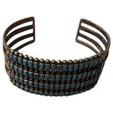 Vintage Zuni Turquoise Bracelet