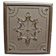 Pecks 1/6th Plate Gutta Percha Daguerreotype Case Dated 1854 Mint