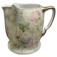 "4 1/2"" Royal Bayreuth Rose Tapestry Pitcher"