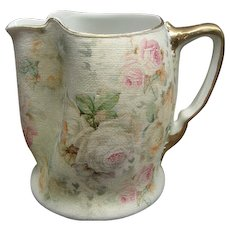 """4 1/2"""" Royal Bayreuth Rose Tapestry Pitcher"""