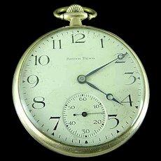 Antique 1920 South Bend # 429 19j Size 12s Gold Filled Pocket Watch Running