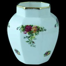 Vintage Royal Albert Old Country Roses Bone China Vase
