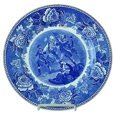 "Wedgwood 10 1/4"" Transfer Commemorative Plate Spirit Of 76 Yankee Doodle"