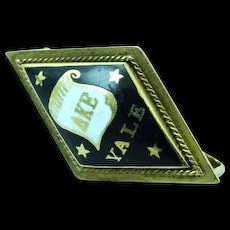 14k Gold Sorority Fraternity Pin Yale 1909 Delta Kappa Epsilon