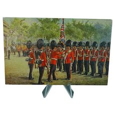 1908 Postcard Raphael Tuck Oilette The Grenadier Guards #3546 Signed Harry Payne