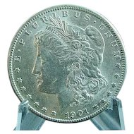 1890 O Morgan Silver Dollar Extra Fine