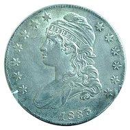 1835 Capped Bust Half Dollar Sharp Coin Estate Find