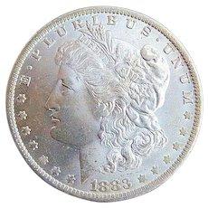 1888 P Morgan Silver Dollar Silver Coin Gem BU Choice Coin