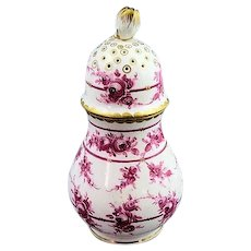 Antique Carl Thieme Dresden Hand Painted Sugar Shaker