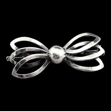 Vintage Sterling Silver Denmark Danish John Lauritzen ( John L ) Brooch Pin