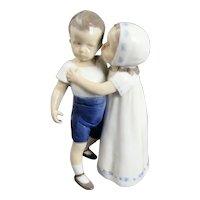 B&G Bing & Grondahl #1614 Love Refused Copenhagen Porcelain Figurine