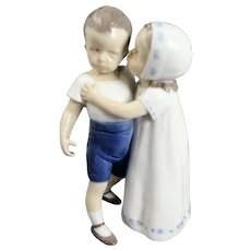 B&G Bing & Grondahl #1614 Love Refused Copenhagen Porcelain Figurine