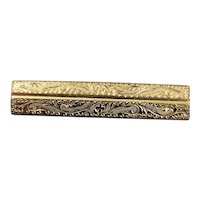 Victorian Gold Filled Brooch Pin