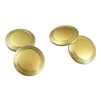 Vintage Art Deco Gold Filled Cufflinks