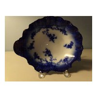 Flow Blue Bowl - LaBelle Pattern