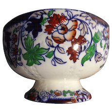 Polychrome Punch Bowl - England