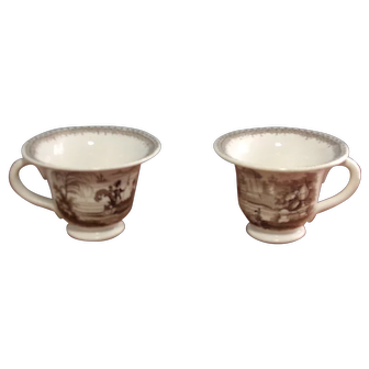 Staffordshire punch cups