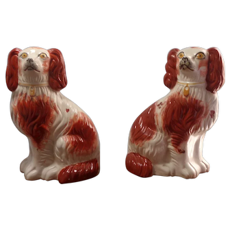 Staffordshire Pair of Dogs