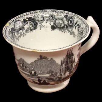 Staffordshire Custard Cup