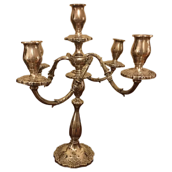 Sterling Silver Candleabra