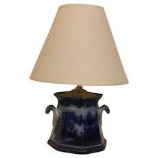 Flow Blue Lamp