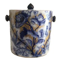 Flow Blue Biscuit Jar