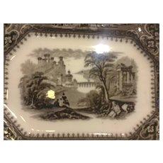 Mulberry Platter in Vincennes Pattern