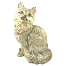 Antique Hubley Cast Iron Cat Door Stop