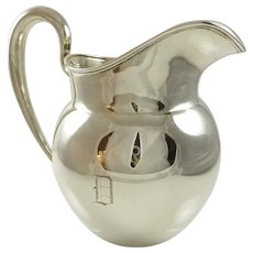 Sterling Silver Water Pitcher 14 Troy Ounces