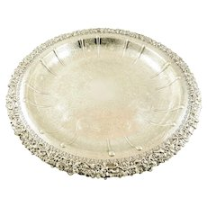 "Barker Ellis English Silver Bowls 16"" Round"
