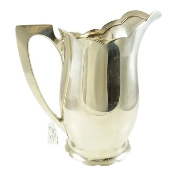 Sterling Silver Water Pitcher by Wallace, 44 Troy Ounces