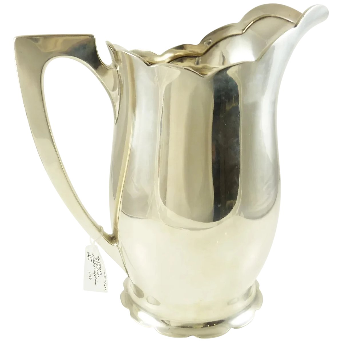 Sterling Silver Water Pitcher By Wallace 44 Troy Ounces York Cottage Antiques Ruby Lane