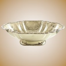 Birks Silver Bowl Engraved - Exceptional Piece