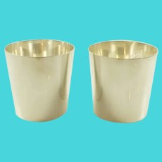 Tiffany & Co Sterling Silver Beakers
