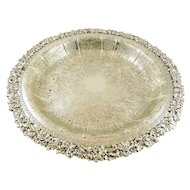 """Silver Shallow Bowl by Birks of England 13"""" Diameter"""