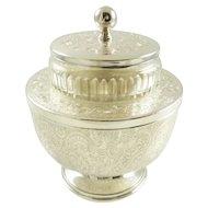 Barker Ellis English Silver Caviar Bowl