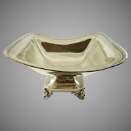 Antique French Silver Centerpiece Bowl by Armond Fresnais