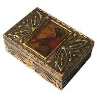 Early Vintage Florentine Gilt Wood Box, Circa 1930