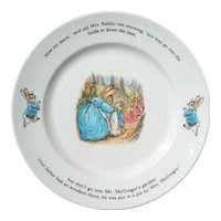Wedgwood Peter Rabbit Dinner Plate