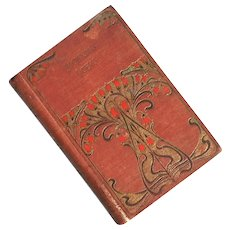 Antique Cloth Bound Edition Of Browning's Poems, Circa 1900