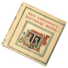 Karen Greenawat's Birthday Book, Circa 1900